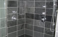 Dark Shower Tile Ideas Elegant Looks Like We Re Going With Gray Slate