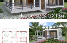 Duplex Bungalow House Plans Best Of Sketchup Home Design Plan 10x13m