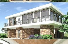 Elevated House Plans On Pilings Awesome Plan Td 2 Bed Modern Home With Carport Parking Below
