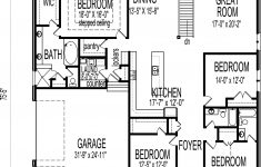 Four Bedroom House Floor Plans Awesome 4 Bedroom Luxury Bungalow House Floor Plans Architectural