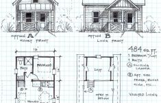 Free Small House Floor Plans Luxury Garden Cottage F E Level With Loft Small House Plans