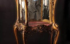 French Antique Furniture Louis Xv Awesome Louis Xv 19th Century Gilded Vitrine