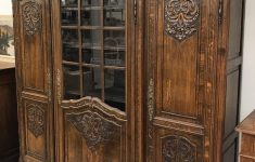 French Antique Furniture Louis Xv New Fine Carved French Louis Xv Oak 3 Doors Bookcase Sold
