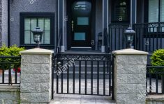 Gates For House Entrance Fresh Entrance Of Residential House With Metal Grid Gate In Front