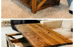 Gun Coffee Table Plans Luxury Ana White Hinged Top Diy Projects