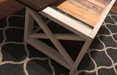 Gun Storage Coffee Table Plans Elegant Coffee Table W Hidden Partment Kona Stain Diy