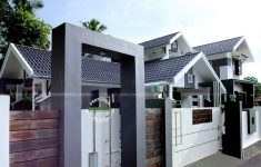 Home Front Gate Wall Design New 4 Bedroom Modern House Plans In Ghana In 2020