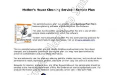 House Cleaning Business Plan Inspirational 9 Cleaning Services Proposal Templates Word Pdf Google