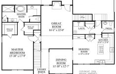 """House Plans 2 Story 3 Bedrooms Fresh House Plan 2675 C Longcreek """"c"""" First Floor Traditional 2"""