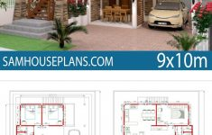 House Plans On Piers Awesome Home Design Plan 9x10m 5 Bedrooms In 2020
