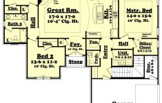 House Plans Ranch Style With Basement Inspirational Traditional Style House Plan 3 Beds 2 5 Baths 1800 Sq Ft Plan 430 60