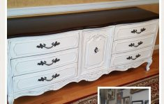 How To Paint Bedroom Furniture Antique White Awesome Frenchprovincial France Dresser Painted In Antique White