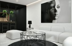 Interior Design Ideas Black And White Lovely 30 Black & White Living Rooms That Work Their Monochrome