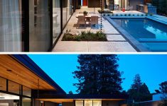 L Shaped Modern House Unique The Design This House In California Was Inspired By The