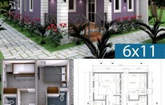Low Budget Home Plans Fresh Low Bud 3 Bedrooms Home Plan 6x11