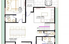 Low Cost Per Square Foot House Plans New Floor Plan For 40 X 60 Feet Plot