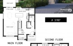 Modern 2 Story Home Plans New House Plan Lavoisier No 3707