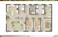Modern Bungalow Design Concept Luxury Bungalow House Floor Plans With E Level & 4 Bedroom Modern