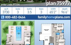 Modern Home House Plans Elegant Modern Style House Plan With 3 Bed 4 Bath 3 Car