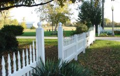 Mossy Oak Fence Orlando Fresh Prizm Vinyl Fences Style Frandsen Color White Picket Top