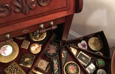 My Antique Furniture Collection Best Of My Vintage Pact Collection In A Dental Cabinet