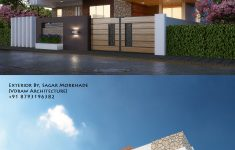 New Contemporary House Designs Luxury Modern House Bungalow Exterior By Ar Sagar Morkhade Vdraw