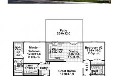New Ranch Style House Plans New Ranch House Plan Chp