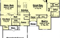 One Story House Plans 2000 Sq Ft Awesome European Style House Plan 3 Beds 2 Baths 2000 Sq Ft Plan