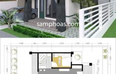 One Story Lake House Plans Elegant E Story House With 3 Bedroom 10x15m