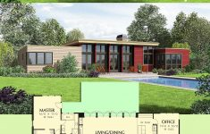 One Story Modern Home Plans Luxury Plan Am 3 Bed Modern House Plan With Open Concept