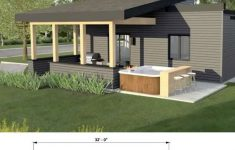 One Story Modern Home Plans Luxury Simple E Storey Single Detached House Plan With Images