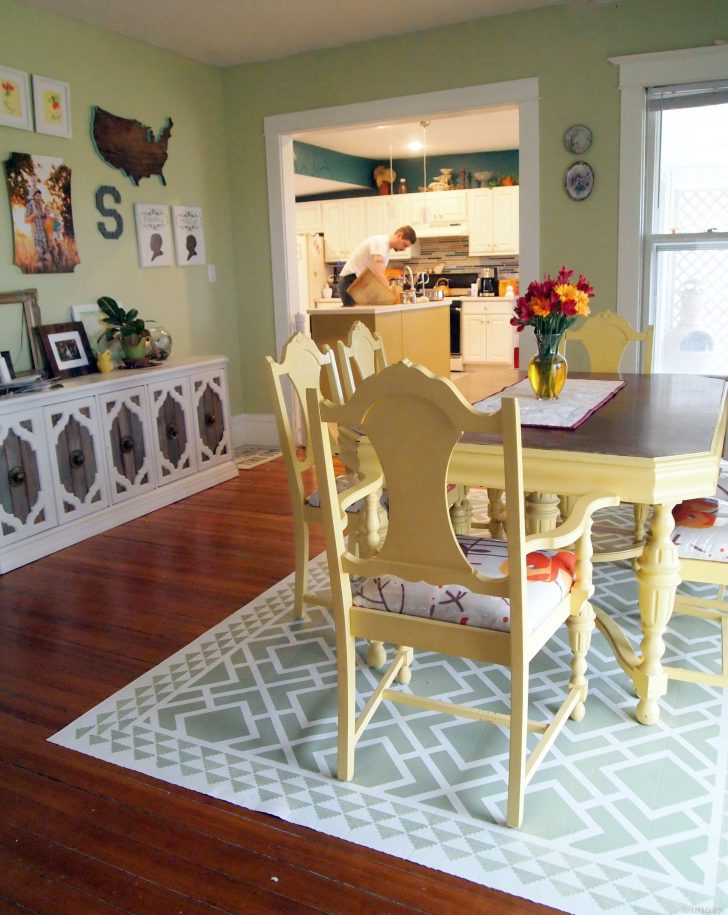 Painted Floor Cloth Instructions 2021