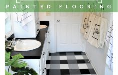 Painted Floor Cloth Instructions Elegant How To Buffalo Check Painted Flooring — The Other Side Of