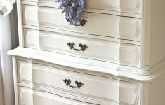 Painting Furniture Antique White Beautiful Roadside Restyle Classic French Dresser