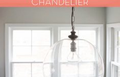 Pendant Light Conversion Kit Menards Awesome How To Diy Sphere Chandelier From A Glass Bowl