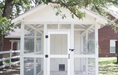 Plans For Chicken House Elegant Fancy Farmhouse Diy Chicken Coop Reveal Southern Revivals