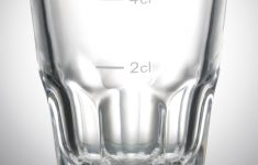 Printed Plastic Pint Glasses Lovely Shot Granity 4 Cl With Markline Print