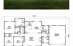 Remodel Plans For Ranch Style House Unique Traditional Style House Plan With 3 Bed 2 Bath 2