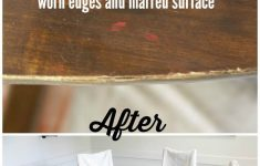 Restore Antique Furniture Without Refinishing Beautiful How To Refinish A Table Without Sanding & Stripping