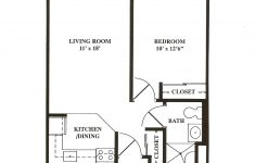Senior Living House Plans Awesome Great Of 1 Bedroom Apartment Floor Plan Decorpass