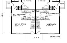 Senior Living House Plans Elegant Colonial Style Multi Family Plan With 6 Bed 6 Bath