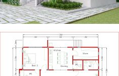 Simple Model House Design Elegant House Plans 12x11m With 3 Bedrooms In 2020