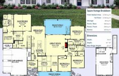 Single Story 4 Bedroom Modern House Plans Lovely Single Story Small Modern Farmhouse Plans Luxury Single
