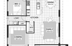 Single Story 4 Bedroom Modern House Plans New Home Designs Under $200 000