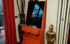 Small Arcade Cabinet Plans Awesome A Super Easy Arcade Machine From 1 Sheet Of Plywood
