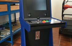 Small Arcade Cabinet Plans Best Of Single Player Arcade Sit Down Homemade Based On Vigolix