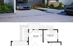 Small House Plans With 3 Bedrooms Awesome Small House Design Plan 11x12m With 3 Bedrooms