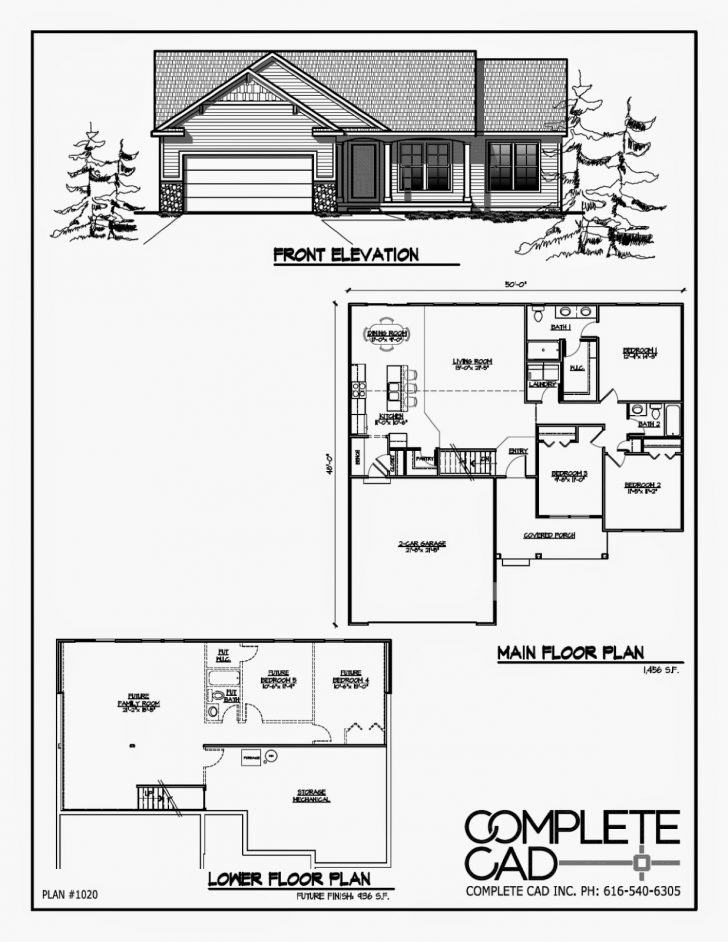 Small House Plans with Elevators 2020