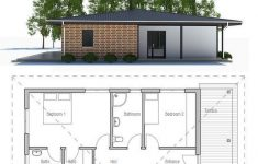 Small House Plans With Lots Of Windows Elegant Small House Plan With Two Bedrooms Open Planning Big
