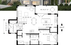 Small Open Concept House Plans New House Plan Billy No 1709